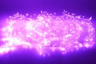 Světelný Mikro LED řetěz pro Interiér a exteriér, 310cm - Fialové