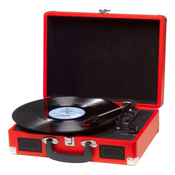 Gramofon Denver Electronics VPL-120 Červený