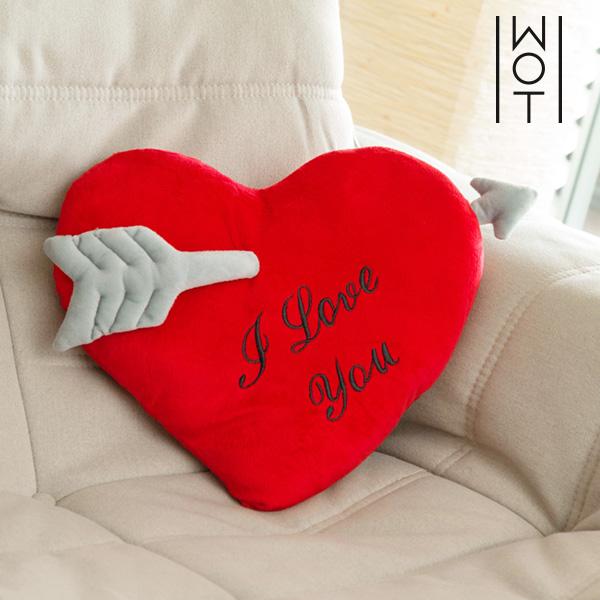 Poduszka Serce ze Strzałą I Love You Wagon Trend (35 cm)