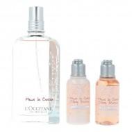 Souprava sdámským parfémem Fleurs De Cerisier L'occitane (3 pcs)