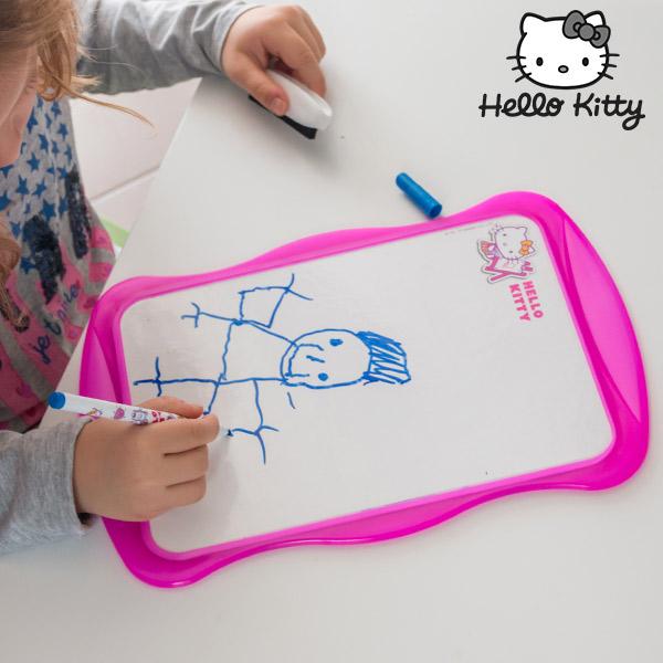 Oboustranná Bílá Tabule Hello Kitty