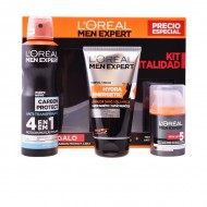 Súprava s erotickým parfumom Men Expert L'Oreal Make Up (3 pcs)