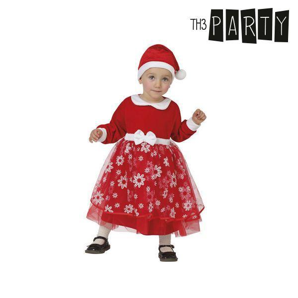 Kostium dla Niemowląt Th3 Party Dziewczyna świętego mikołaja - 0-6 miesięcy