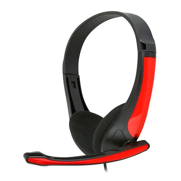 Słuchawki z Mikrofonem Omega Freestyle FH4088R Czerwony