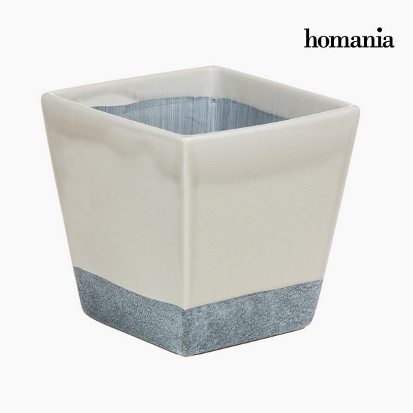 Béžovo-šedý keramický květináč by Homania