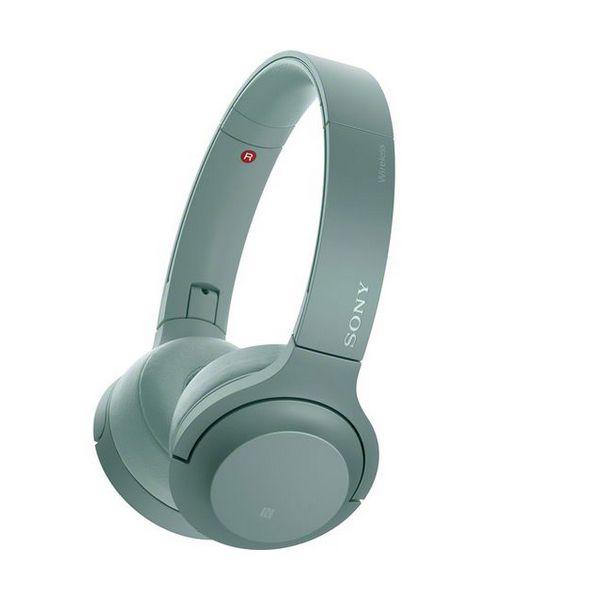 Sluchátka s Bluetooth Sony WH-H800 NFC Zelená