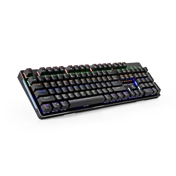 Klawiatura do Gier/ OR: Klawiatura Gamingowa Tacens MK4B USB RGB SWITCH Niebieski