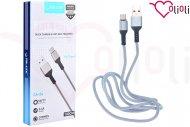 Nabíjecí a synchronizační USB-C kabel TD-LTE CA-24 (100cm) - Stříbrno šedý