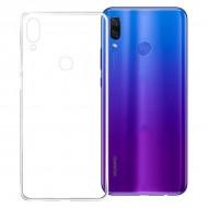 Puzdro na mobil Huawei P Smart Plus TPU Transparentná