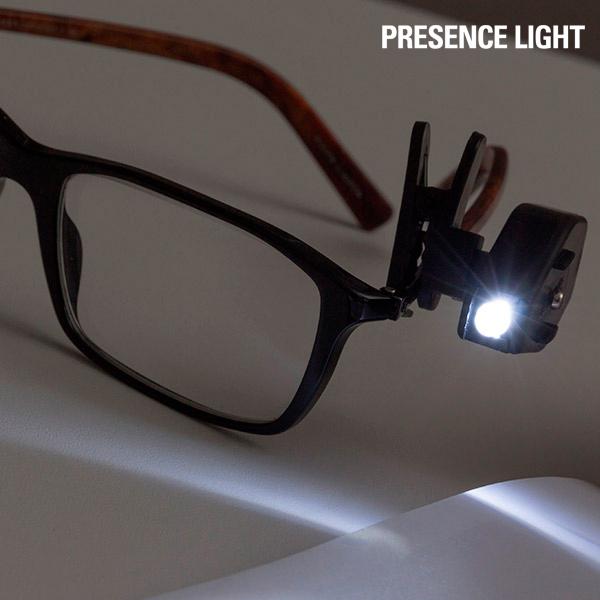 Klip na Brýle s LED Světlem Presence Ligh