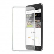 Puzdro na mobil Alcatel A5 Led Flex TPU Transparentná