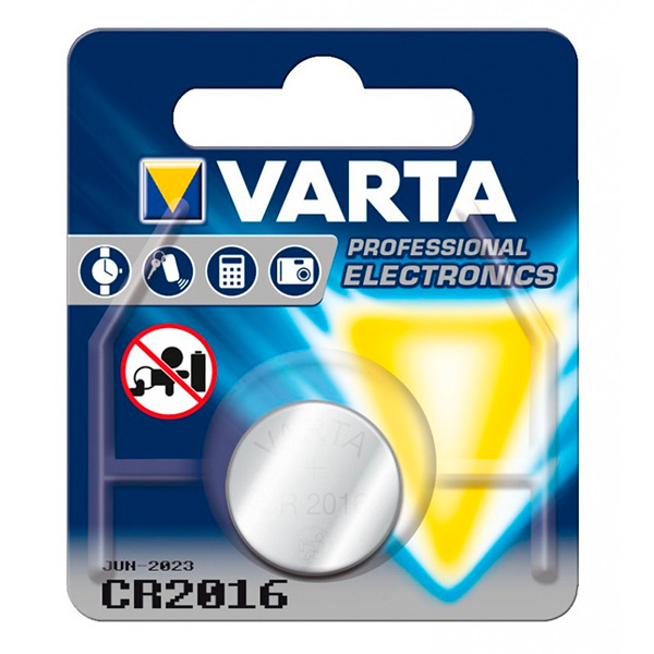 Knoflíková lithiová baterie Varta 220843 3 V