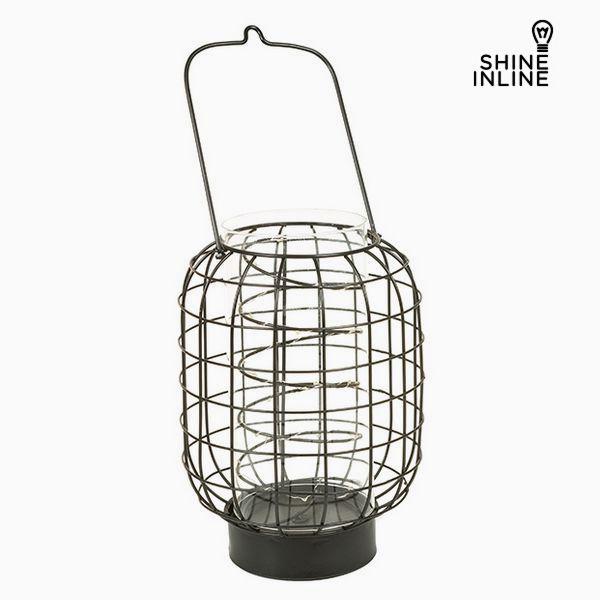 Lantern Kuźnia Świeczniki Szkło - Art & Metal Kolekcja by Shine Inline