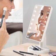 Kosmetické zrcátko s LED podsvícením