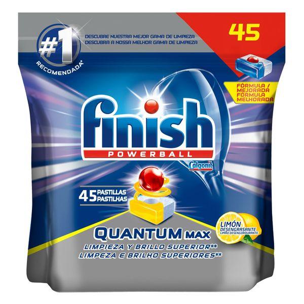 Tablety do Myčky Finish Quantum Lemon (45 tablet)