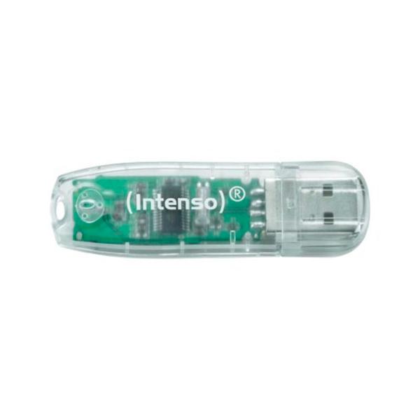 Pamięć USB INTENSO 3502480 32 GB Przezroczysty