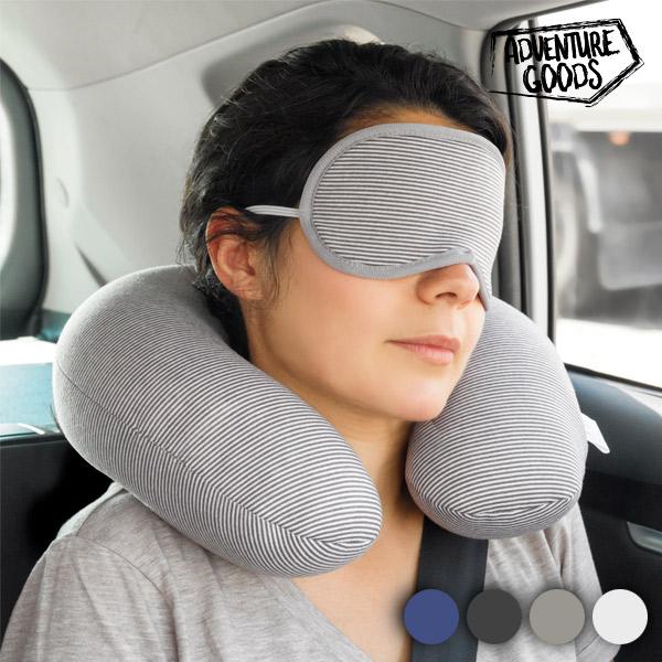 Cestovní Krční Polštář a Maska na Oči Adventure Goods