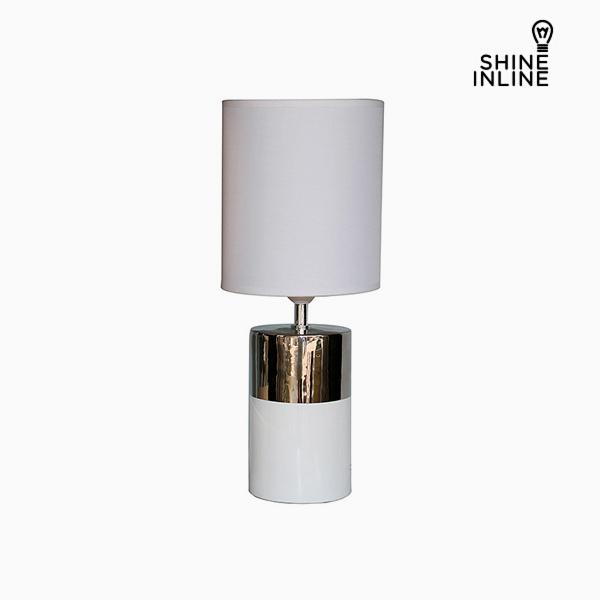 Stolní Lampa Bílý (19 x 19 x 48 cm) by Shine Inline