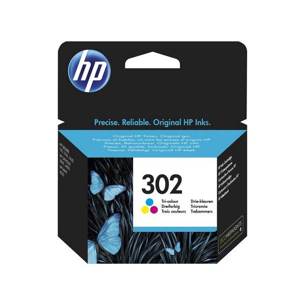 Originální inkoustové náplně HP F6U65AE 302
