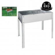 Barbeque gril BBQ Classics 36378 (42 x 27 x 18 cm) Kov