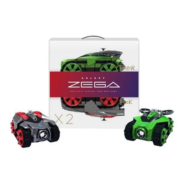 Samochód Zega BXZE1002 Razor&Puck (2 pcs) Bezprzewodowy Czerwony Kolor Zielony