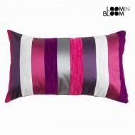 Poduszka Purpura (50 x 30 x 10 cm) - Colored Lines Kolekcja by Loom In Bloom