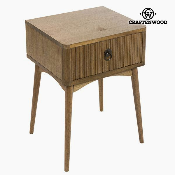 Noční stolek Teak Mdf Kaštanová - Be Yourself Kolekce by Craftenwood