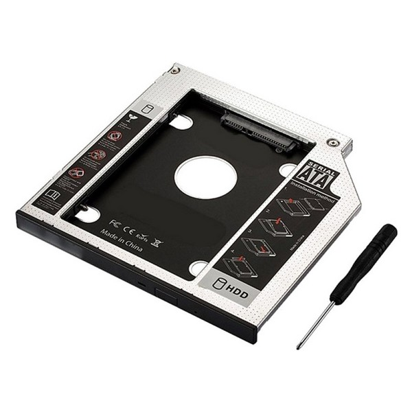 Adapter HDD/SSD SATA dla Układu Optycznego (9,5 mm) Ewent EW7003