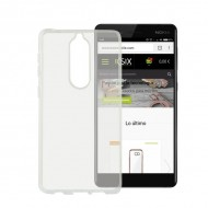 Puzdro na mobil Nokia 7 Flex Transparentná