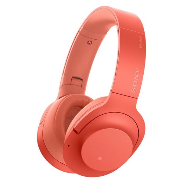 Sluchátka s Bluetooth Sony WHH900NR 103 dB Červený