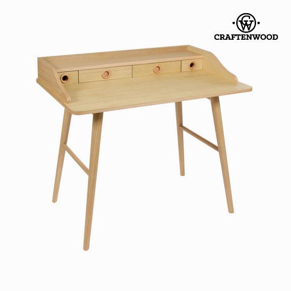 Dřevěný sekretář se 4 zásuvkami - Modern Kolekce by Craftenwood