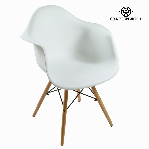 White abs chair by Craftenwood