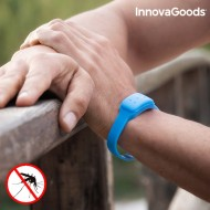 InnovaGoods Citronella Szúnyogriasztó Karkötő - Kék