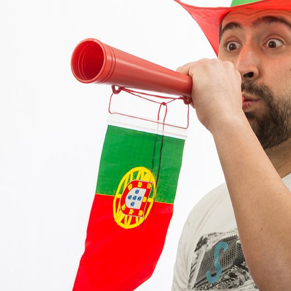 Trumpeta s Portugalskou Vlajkou