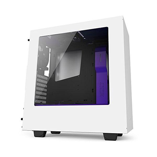 Obudowa do semi-wieży Micro ATX / ATX NZXT ICACSM0398 CA-S340W-W3 mini-ITX 2 x USB 3.0 1 x Audio/Mic