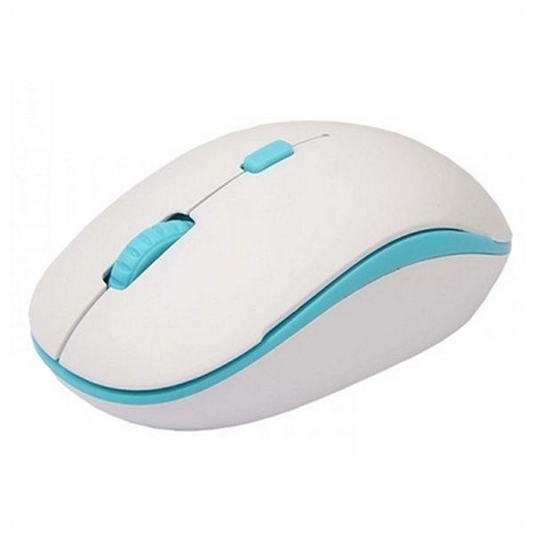 Bezdrátová myš approx! APPWMBWLB 1600 dpi Plug and play Bílý Modrý