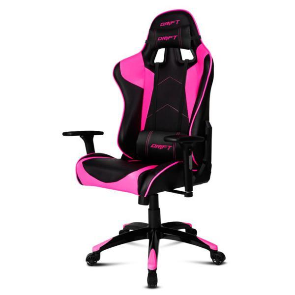 Fotel dla Graczy DRIFT DR300BK Czarny Różowy