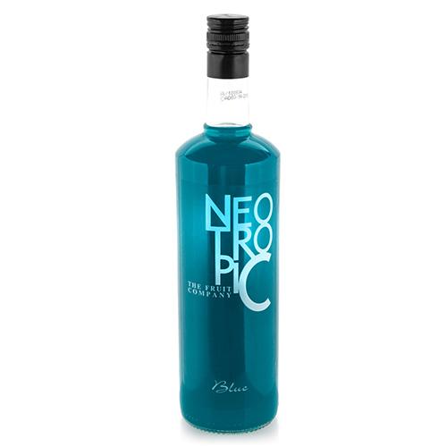 Modrý Nealkoholický Osvěžující Nápoj Neo Tropic 1l