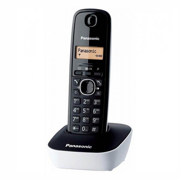 Telefon Bezprzewodowy Panasonic KX-TG1611SPW Biały