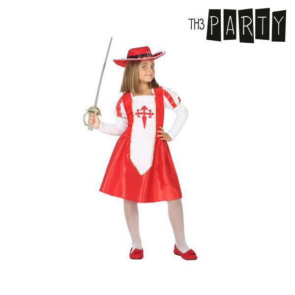 Kostým pro děti Th3 Party Mušketýrka - 7–9 roků