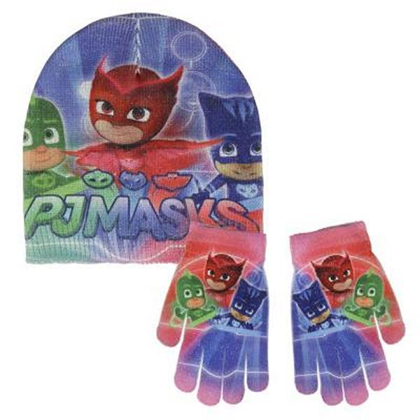 Čepice a rukavice PJ Masks
