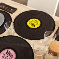 Originální prostírání - vinylové desky