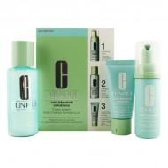 Souprava sdámskou kosmetikou Anti-blemish Solutions 3 Step Clinique (3 pcs)