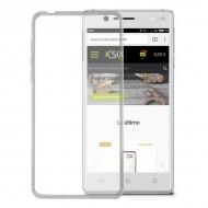 Puzdro na mobil Nokia 3 Flex Transparentná