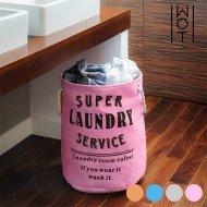 Pytel na Špinavé Prádlo Super Laundry Service Wagon Trend - Růžový