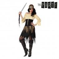 Kostým pro dospělé - pirátka - XS/S