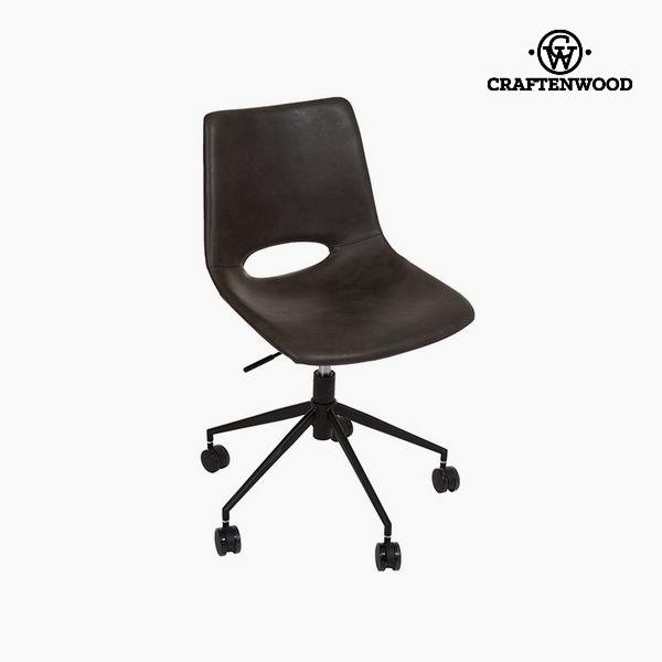 Krzesło Gris oscuro Sztuczna skóra (63 x 63 x 80 cm) by Craftenwood