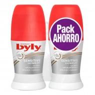 Kuličkový deodorant Sensitive Byly (2 uds)