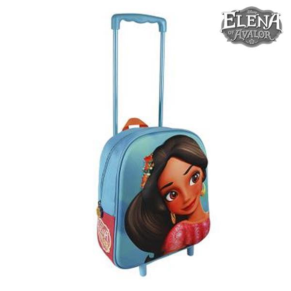 Školní taška na kolečkách 3D Elena de Avalor 890