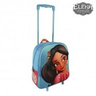 Plecak szkolny 3D z kółkami Elena de Avalor 890